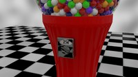 High Quality Gumball Machine